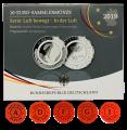 5  +  25 Euro Gedenkmünze (Stgl. + Spgl.)