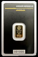 1/10 Unze Goldbarren (ARGOR-Heraeus)