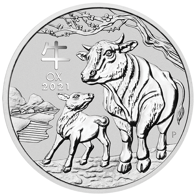 1 Oz. Australien - Ochse 2021 (Lunar III)