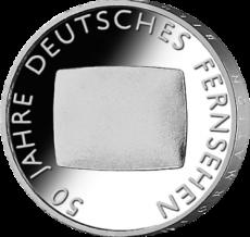 10 Euro - 50 Jahre Dt. Fernsehen (2002 - Spgl.)