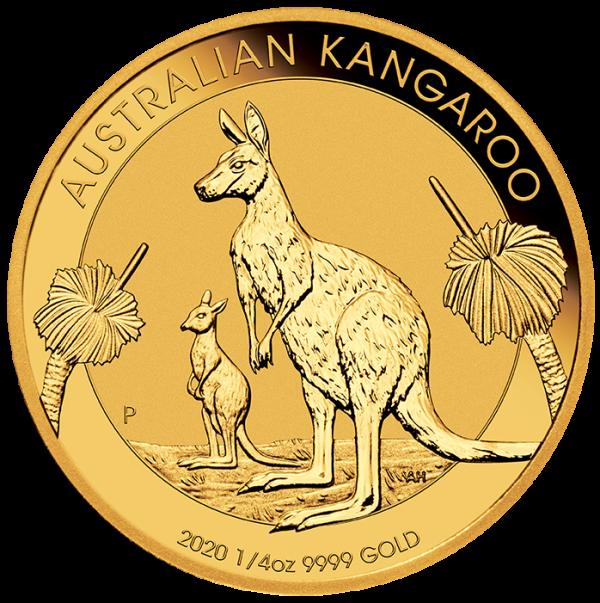 1/4 Oz. Australien - Nugget/Känguru 2020