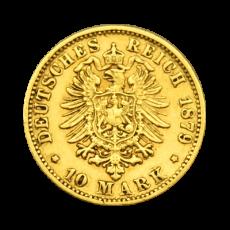 J 196 - 10 Mark Bayern - Ludwig II
