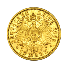 J 295 - 10 Mark Württemberg - Wilhelm II