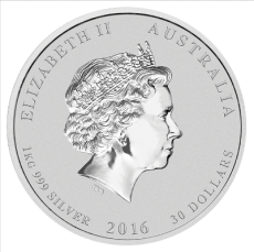 1 Kg Australien - Affe 2016 (Lunar II)