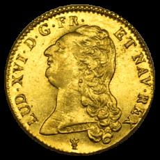 Frankreich - 2 Louis d´or - Louis XVI 1786 -  I