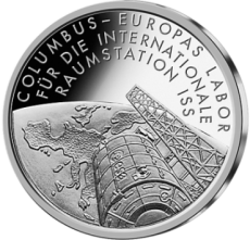 10 Euro - Columbus - Raumstation ISS (2004 - Spgl.)
