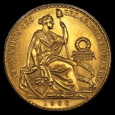 100 Soles Peru - 1966