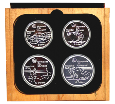 4er-Serie - Olympiade Montreal 1976 (Proof)