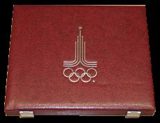 Komplettserie Olympiade Moskau 1980 - PP