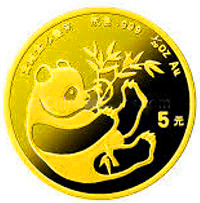 1/20 Oz. China - Panda 1984