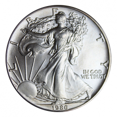 1 Oz. USA - American Eagle 1986