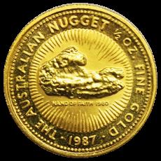 1/2 Oz. Australien - Nugget/Känguru 1987