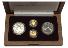 1988 U.S. Mint Olympic Coins (4-Coin Set)