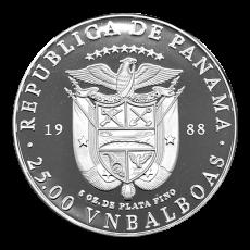 5 Oz. Panama 1988 - Manfred Freiherr v. Richthofen (Red Baron)