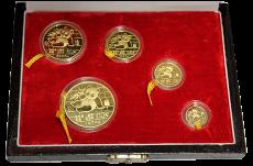 1,95 Oz. China Panda Proof Set 1989 (Originalbox + COA)