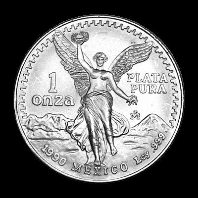 1 Oz. Mexiko - Libertad 1990