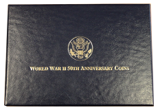 1991-1995 World War II 50th Anniversary Coins (6-Coin Set)