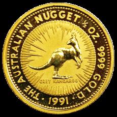 1/2 Oz. Australien - Nugget/Känguru 1991