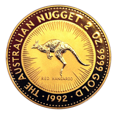 2 Oz. Australien - Kangaroo 1992