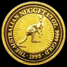 1/10 Oz. Australien - Nugget/Känguru 1995
