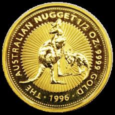 1/2 Oz. Australien - Nugget/Känguru 1996