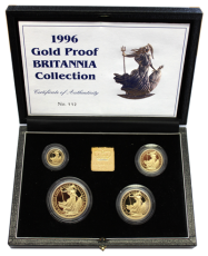 1,85 Oz. Britannia Gold-Proof-Set 1996