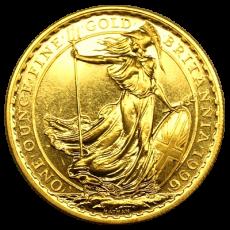 1 Oz. Großbritannien - Britannia 1996