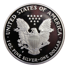 1 Oz. USA - American Eagle 1993 (Proof) - P - Originalbox + COA