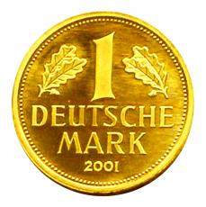 1 DM BRD - Goldmark 2001  -  D