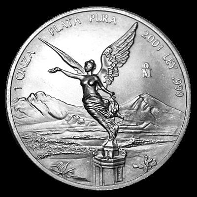 1 Oz. Mexiko - Libertad 2001