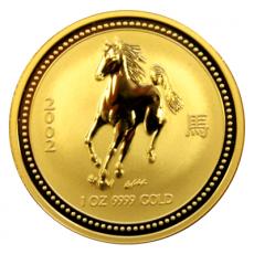 1 Oz. Australien - Pferd 2002 (Lunar I)