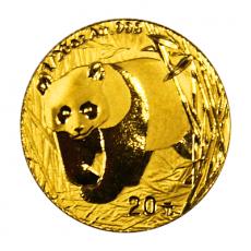 1/20 Oz. China - Panda 2002