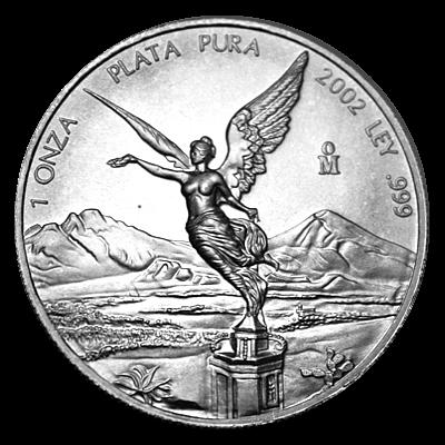 1 Oz. Mexiko - Libertad 2002