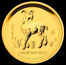 1/10 Oz. Australien - Ziege 2003 (Lunar I)
