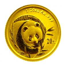 1/20 Oz. China - Panda 2003