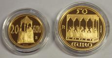 San Marino - 20 + 50 Euro 2003 - Giotto - Cappella Scrovegni 1303
