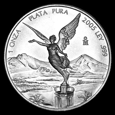 1 Oz. Mexiko - Libertad 2005