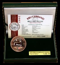 1 Oz. Süd-Afrika - Krügerrand 2005 - Brilliant Edition