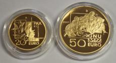 San Marino - 20 + 50 Euro 2005 - La Pace