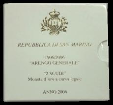 San Marino - 2 Scudi 2006 - ARENGO GENERALE