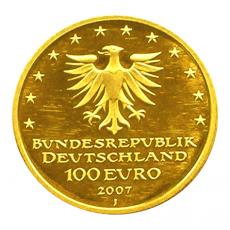 100 Euro BRD - Lübeck 2007  -  D