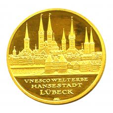 100 Euro BRD - Lübeck 2007  -  J