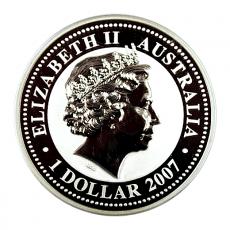 1 Oz. Australien - Maus 2008 (Lunar I)