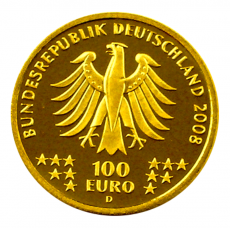100 Euro BRD - Goslar 2008 - G