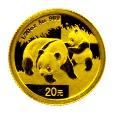 1/20 Oz. China - Panda 2008