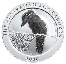 1 Oz. Australien - Kookaburra 2008