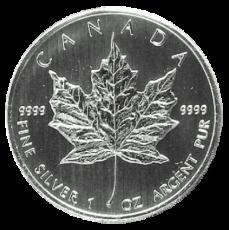 1 Oz. Canada - Maple Leaf