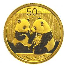 1/10 Oz. China - Panda 2009