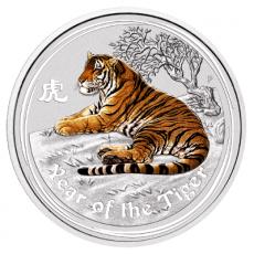 1 Oz. Australien - Tiger 2010 - Farbe (Lunar II)