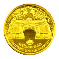 100 Euro BRD - Würzburg 2010  -  D